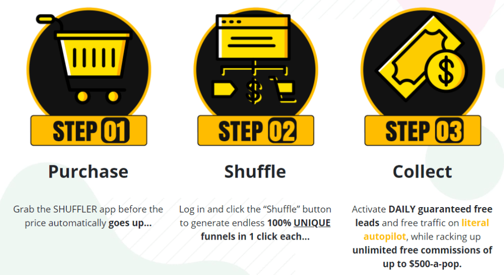 shuffler review steps