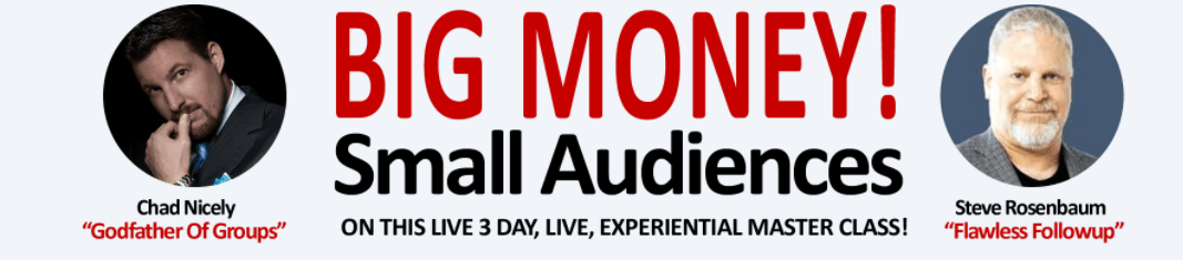 Big Money from Small Audiences Review